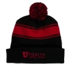 University of Utah Health Pom Beanie