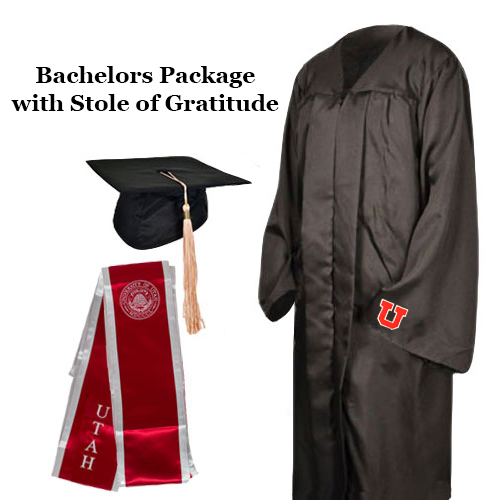 Image For University of Utah Bachelor Package with Stole