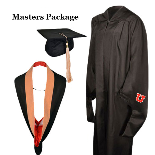 Image For University of Utah Masters Regalia Package