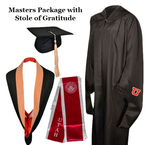 Image For University of Utah Master Package with Stole