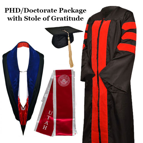 Image For University of Utah PhD-Doctor Package with Stole