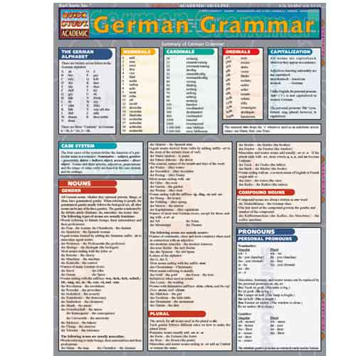 Image For German Grammar Barchart
