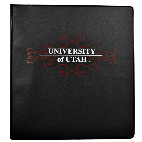"Image For 1"" University of Utah Binder"