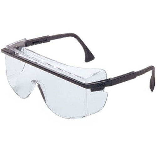 Image For Uvex Astro 3001 Worn Over Prescription Safety Glasses