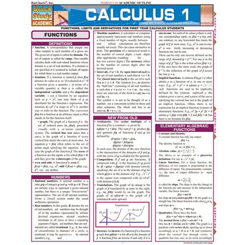 Image For Calculus 1