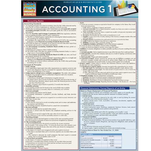 Image For Accounting 1 Barchart