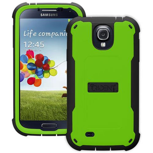 Image For Trident Cyclops Case for Galaxy 4 Green