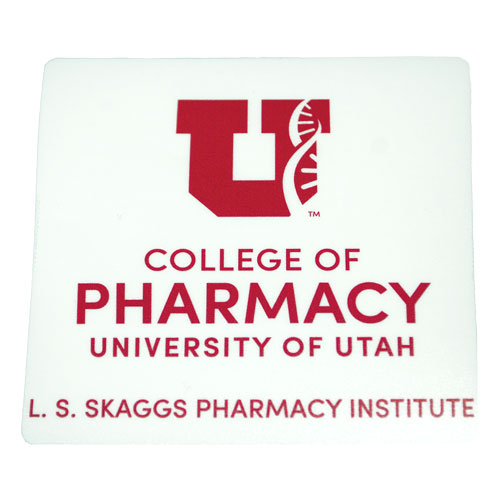 Image For University of Utah College of Pharmacy Decal