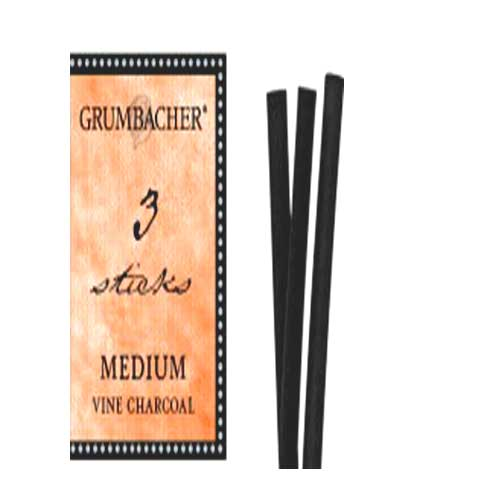 Image For Grumbacher Medium Charcoal Vine