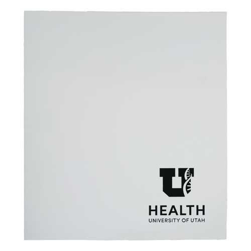 Cover Image For University Of Utah Health Care Glossy White 2 Pocket Folder