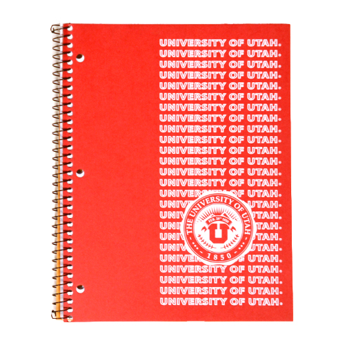 Image For 1-Subject University of Utah Seal Notebook