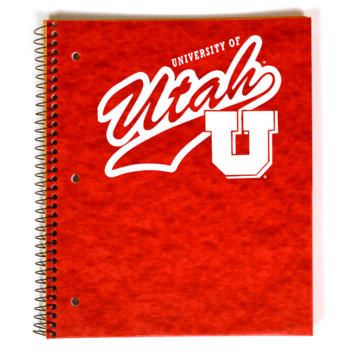 Image For 1-Subject University of Utah Block U Notebook