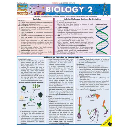 Image For Biology 2 BarChart