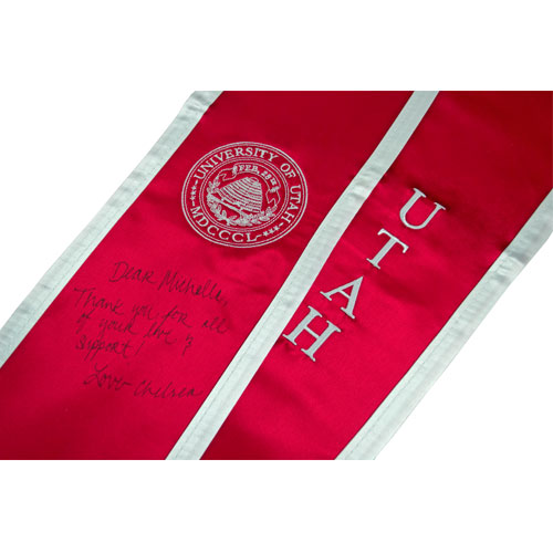 Image For University of Utah Stole of Gratitude