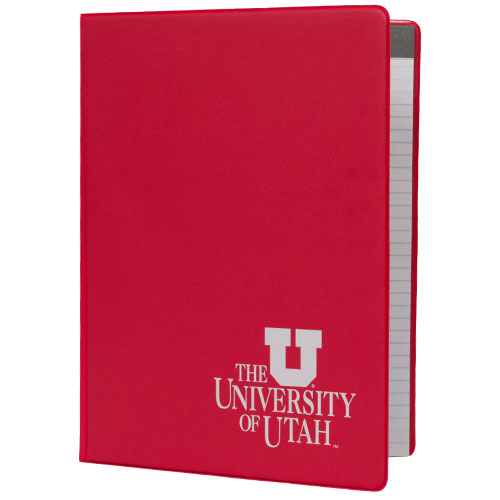 Image For University of Utah Block U Vinyl Pad Holder