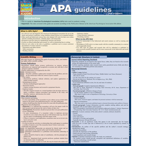 Image For APA/MLA Guidelines Barchart