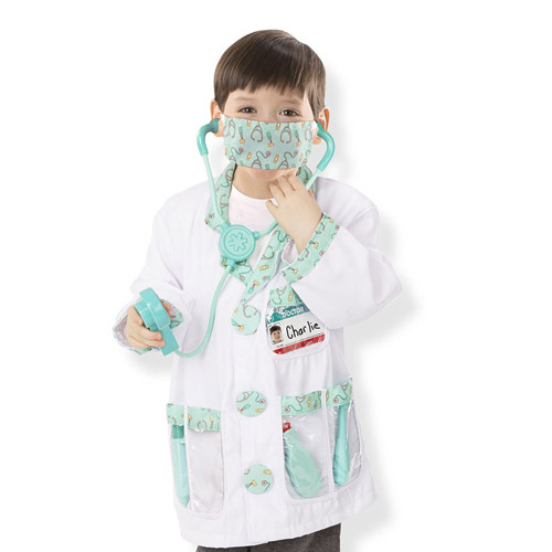Image For Doctor Role Play Costume Set