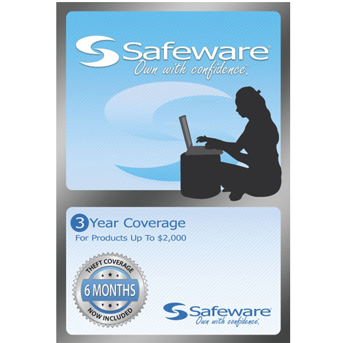 Image For Safeware Protection Plan 3 Year-Light Blue