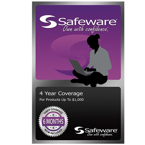 Image For Safeware 4 Year Protection Plan-Purple