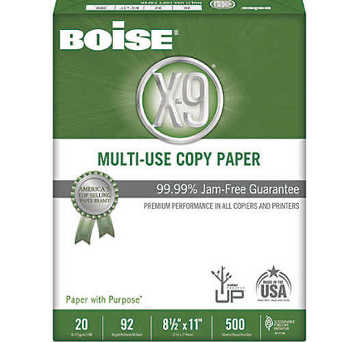Image For Boise Cascade X-9 Multi-Use Copy Paper