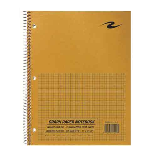Image For Quad Ruled Graph Paper Notebook