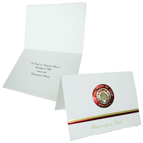 Image For University of Utah Traditional Graduation Announcements
