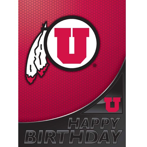 Image For Utah Utes Athletic Logo Happy Birthday U