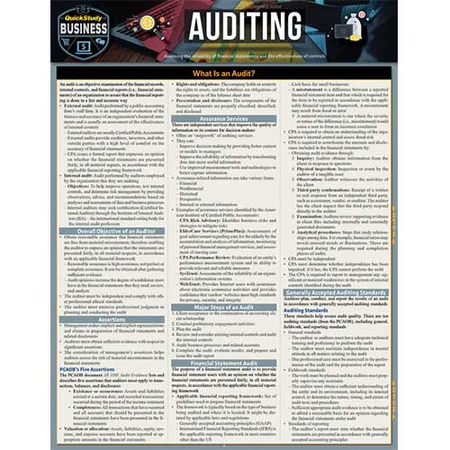 Cover Image For Auditing Barchart