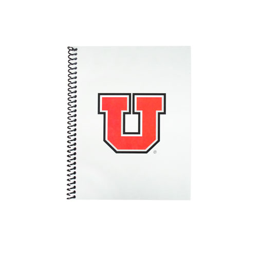 Image For University of Utah Block U Spiral Bound Notebook