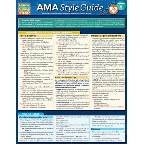Image For AMA Style Guide Barchart