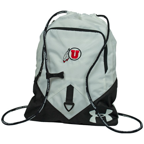 70f9768353 Image For Utah Utes Under Armour Athletic Logo White Sack Pack