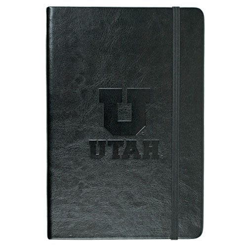 Cover Image For Utah Utes Block U Black Journal