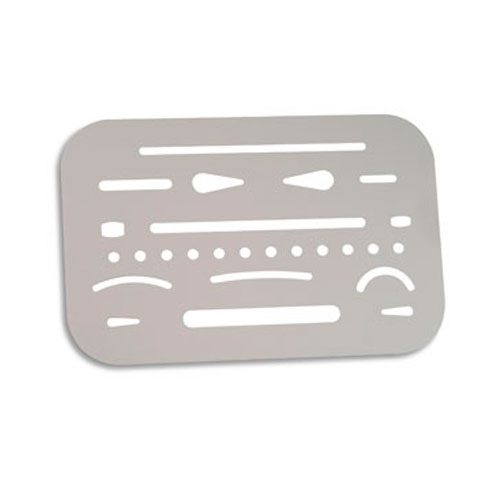 Image For Stainless Steel Erasing Shield