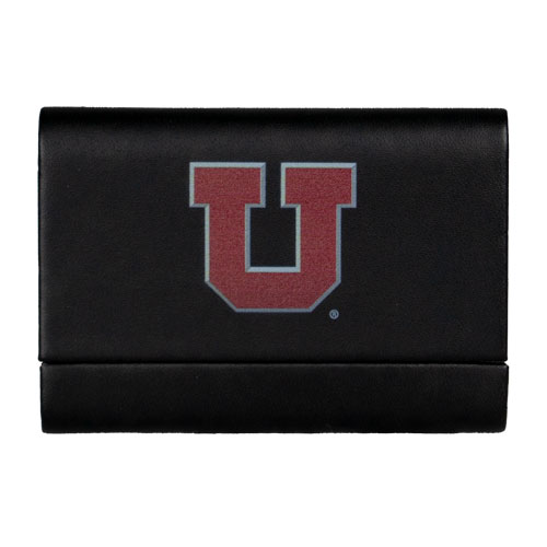 Image For Utah Utes Block U Business Card Case
