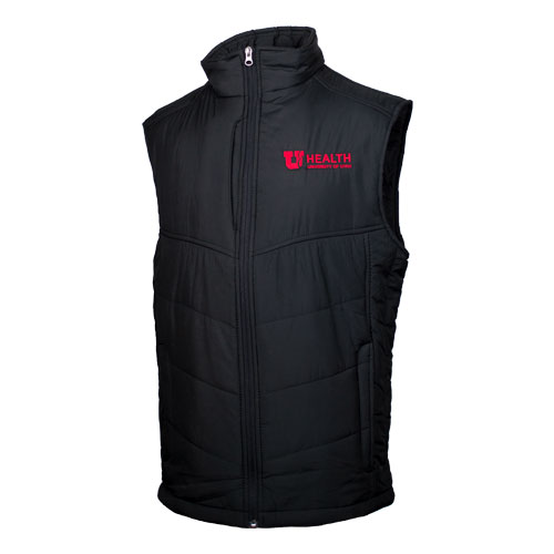 Image For University of Utah Health Men's Puff Vest