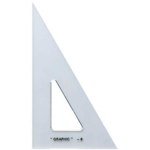Cover Image For Alvin Acrylic Triangle 10-inch