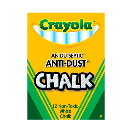 Image For Anti-Dust White Chalk