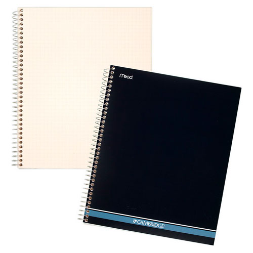 Image For Cambridge Quad Ruled Notebook