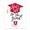 Cover Image for University of Utah Hats Off Grad Card