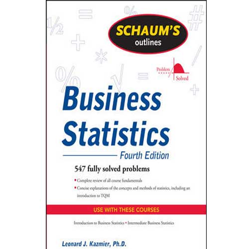 Cover Image For Business Statistics Schaum's Guide