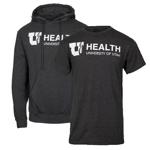 Image For University of Utah Health T-Shirt Hoodie Combo