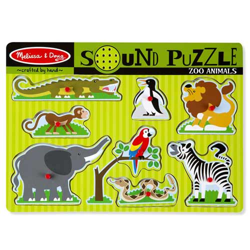 Image For Zoo Animals Sound Puzzle