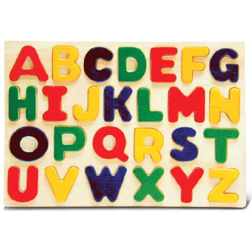 Image For Letters Wooden Puzzle
