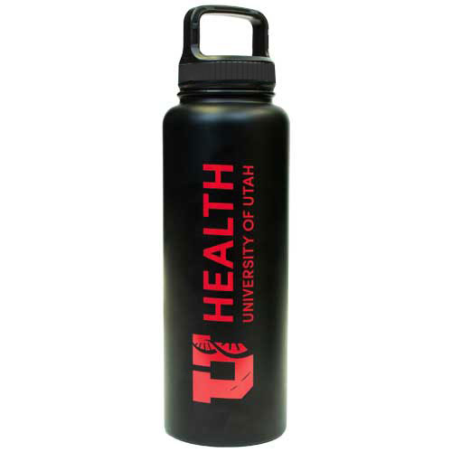 Cover Image For U of U Health 32oz Metal Water Bottle