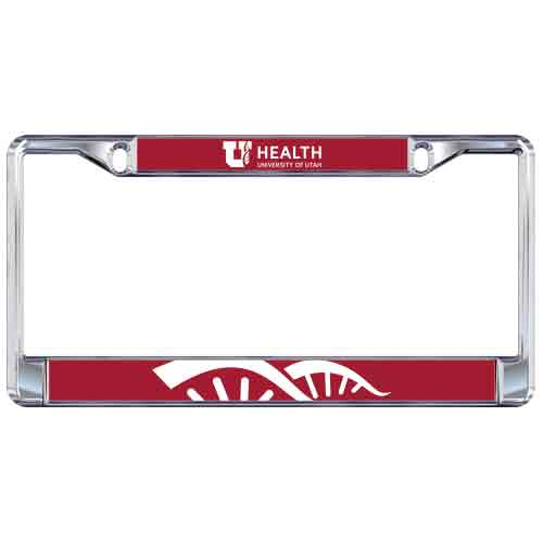 Image For Utah Utes Health Sciences Helix License Plate Frame