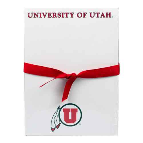 Image For University of Utah Athletic Logo 55 page Note Pad