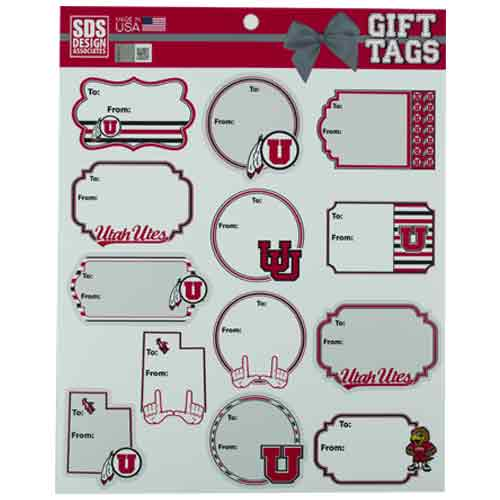 Image For University of Utah Gift Tags