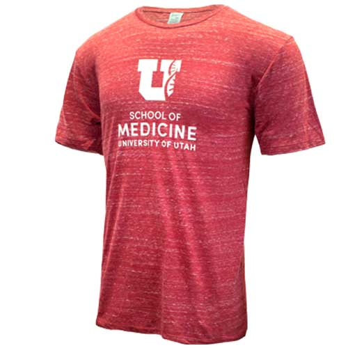 Cover Image For University of Utah School of Medicine Helix T-Shirt