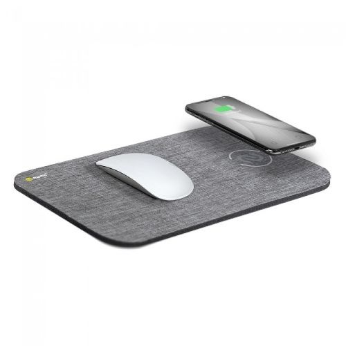 Image For Power Mat 10W Qi Charging Mouse Mat