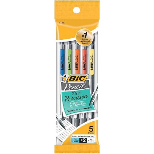 Image For 0.5mm Bic Classic Mechanical Pencil - 5 Pack